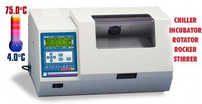 Incubadoras Refrigeradas con Agitacion y Rotacion Scientific Industries